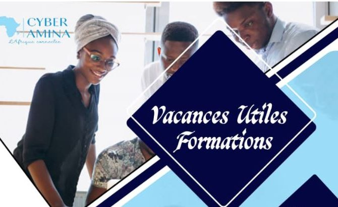 formations vacances utiles - cyber Amina